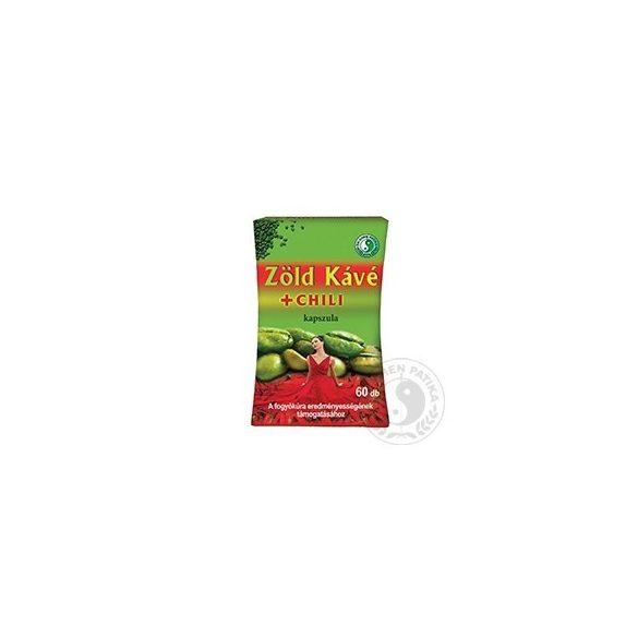Dr.chen zöldkávé+chili kapszula 60 db