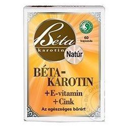 Dr.chen béta-karotin+e-vitamin+cink kapszula 60 db