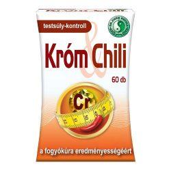 Dr.chen króm és chili kapszula a fogyókúra eredményességéért 60 db