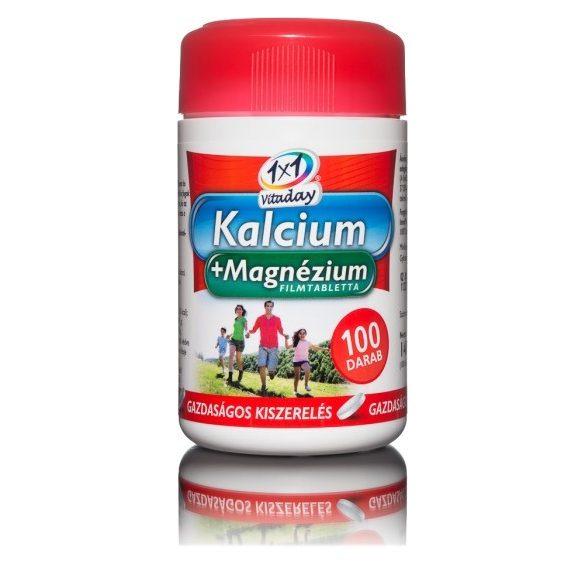 1x1 vitaday magnézium 250 mg filmtabletta 100 db