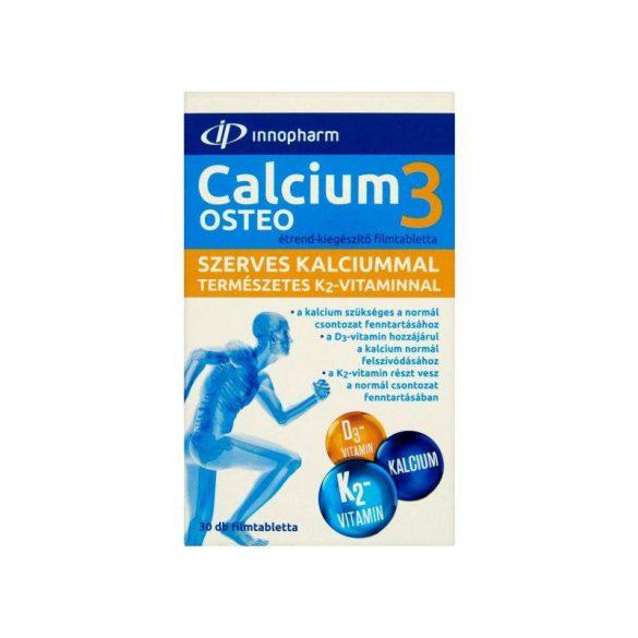 Innopharm szerves calcium3 osteo filmtabletta d3 és k2 vit. 30 db
