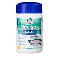 1x1 Vitamin Omega3 Halolaj lágyzselatin kapszula 30 db