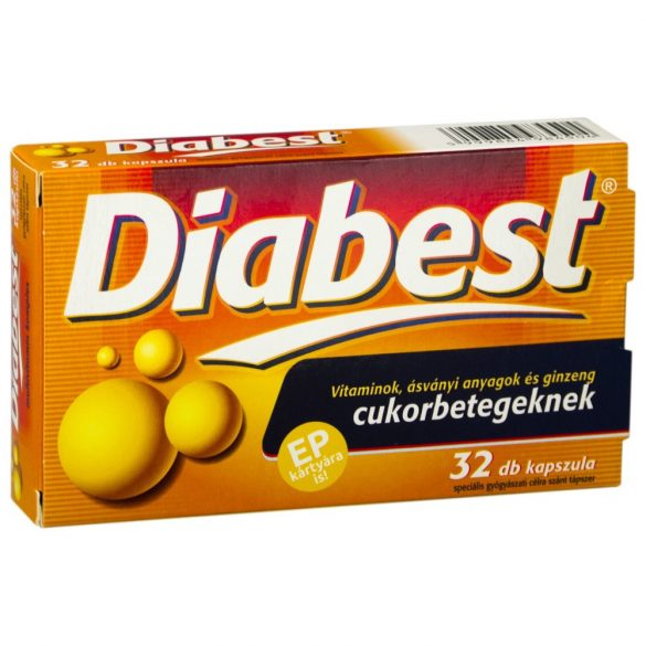 INNOPHARM DIABEST KAPSZULA 32 DB 32 db
