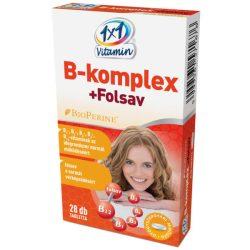 1X1 B-Komplex+Folsav Tabletta 28 db