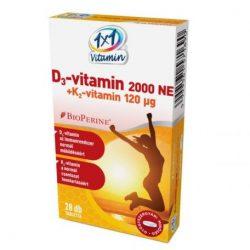 1x1 vitamin d3-vitamin 2000NE filmtabletta 60 db
