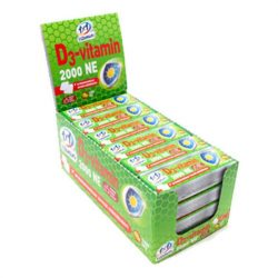 1x1 vitamin d3-vitamin 2000NE rágótabletta szőlőcukorral 14 db