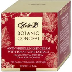 Helia-D botanic concept éjszakai ránctalanító krém tokajibor 50 ml
