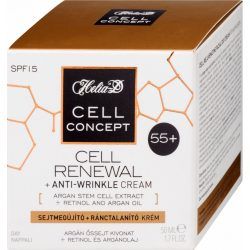 Helia-D cell concept 55+ sejtmegújító+ránctalanító nappali krém 50ml