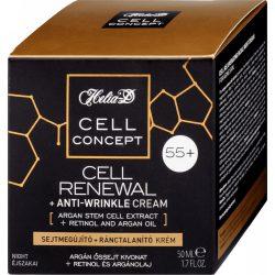 Helia-D cell concept 55+ sejtmegújító+ránctalanító éjszakai krém 50ml
