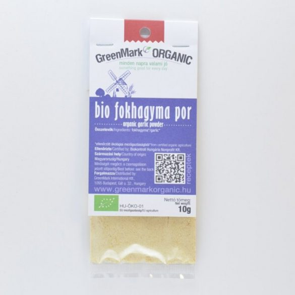 Greenmark bio fokhagymapor 10 g