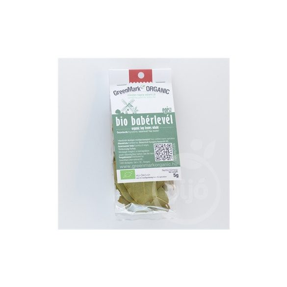 Greenmark bio babérlevél egész 5 g