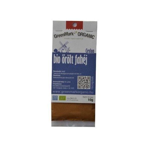 Greenmark bio őrölt fahéj 50 g