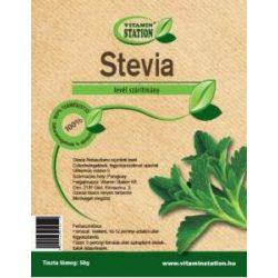 Vitamin Station stevia levél szárítmány 50 g
