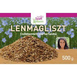 Szafi Fitt zsírtalanított lenmagliszt 500 g