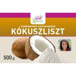 Szafi Fitt zsírtalanított finom szemcsés kókuszliszt 500 g