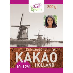 SZAFI Reform KAKAÓPOR HOLLAND 10-12% 200G