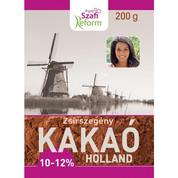 Szafi R.Kakaópor Holland 10-12% 200 g