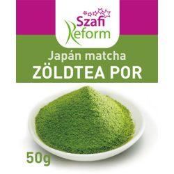Szafi Fitt japán matcha zöldtea por 50 g