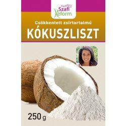 Szafi Fitt zsírtalanított finom szemcsés kókuszliszt 250 g