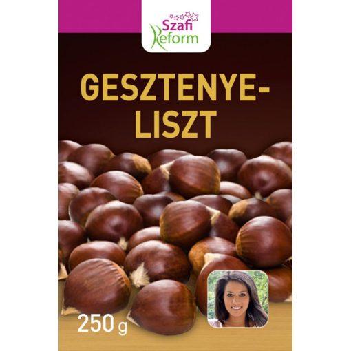 Szafi Fitt zsírtalanított gesztenyeliszt 250 g
