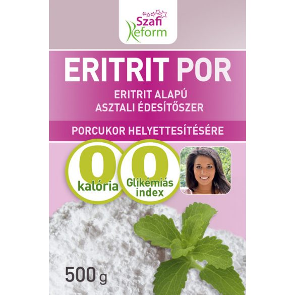 SZAFI Reform ERITRITOL PORCUKOR 500G