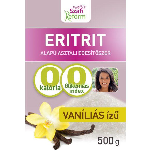 Szafi R.Eritritol Vaníliás  500 g