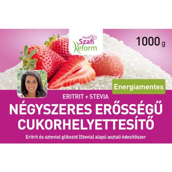 Szafi Fitt 4x-es erősségű természetes édesítő 1000 g