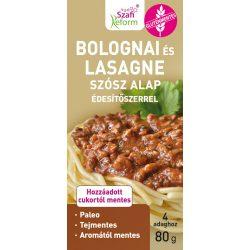 Szafi Fitt bolognai és lasagne alappor term.édesítővel 80 g