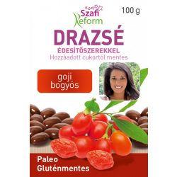 Szafi Reform drazsé édesítőszerekkel goji bogyós 100 g