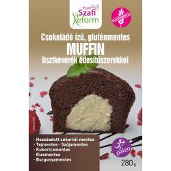 Szafi Fitt étcsokoládés muffin por 280 g