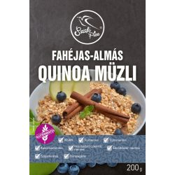 Szafi Free quinoa müzli fahéj-alma 200 g
