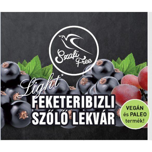 SZAFI Free LEKVÁR FEKETERIBIZLI-SZŐLŐ