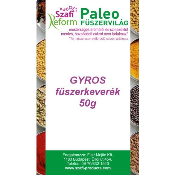 Szafi Fitt fűszerkeverék gyros 50 g
