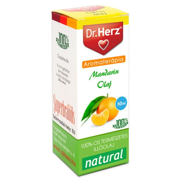 Dr.herz mandarin illóolaj 10 ml