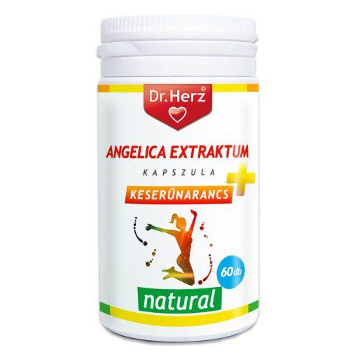 DR Herz Angelica Extraktum+Keserűnarancs 60 db kapszula