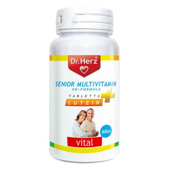 Dr.Herz Multivit.Senior Tabletta 60 db