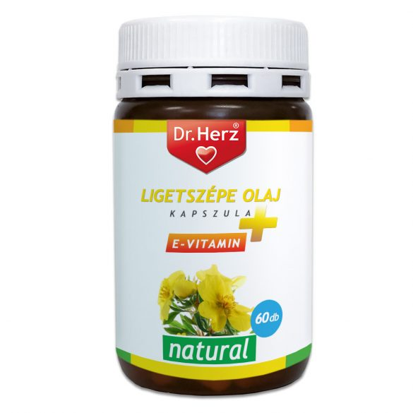 Dr.herz ligetszépe olaj+e-vitamin kapszula 60 db