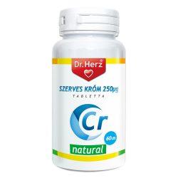 Dr.herz szerves króm-pikolinát 250 g tabletta 60 db