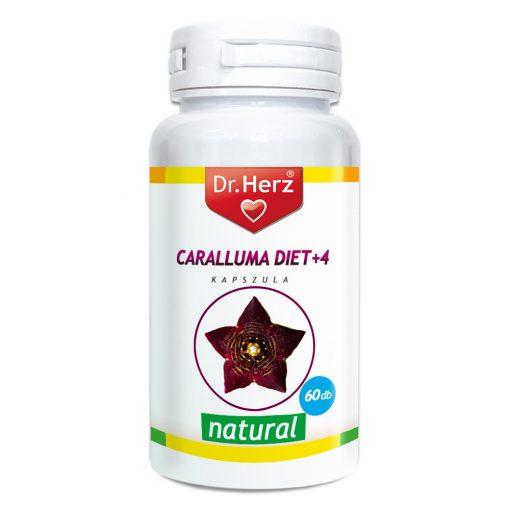 DR.HERZ CARALLUMA DIET+4 KAPSZULA 60 DB
