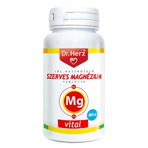 DR.HERZ SZERVES MAGNÉZIUM TABLETTA 60 DB