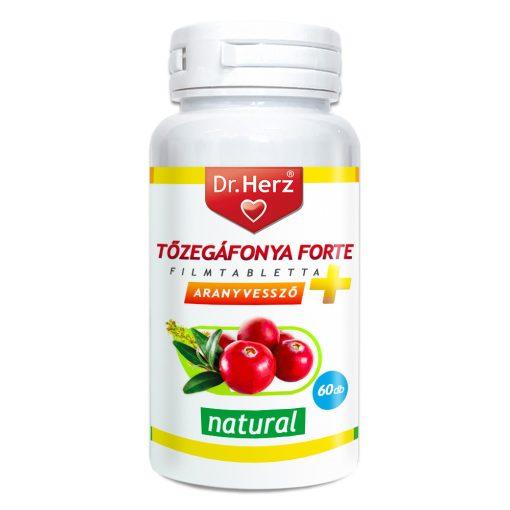 DR.HERZ TŐZEGÁFONYA FORTE+ARANYVESSZŐ