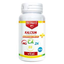 Dr.herz kalcium+magnezium+cink+d3 tabletta 90 db