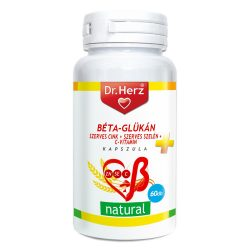 DR Herz Béta-Glükán+Szerves Zn,Se+C-vitamin 60 db kapszula