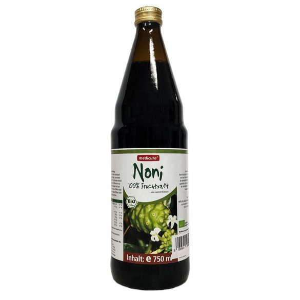 Medicura noni 100% bio gyümölcslé 750 ml