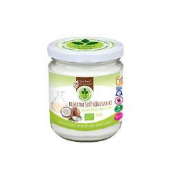 Dr. Natur étkek, Bio extra szűz kókuszolaj (VCO). Kémiai anyagoktól mentes. Ehető és kenhető. 200ml