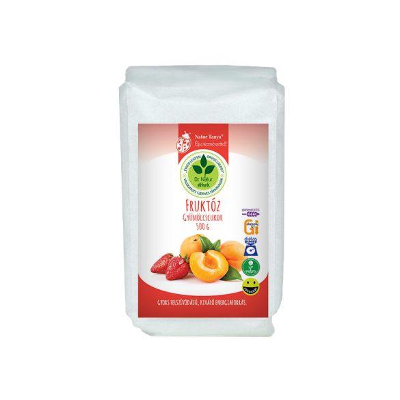 Dr. Natur étkek, Fruktóz (Gyümölcscukor). Gyors felszívódású, kiváló energiaforrás. Sütéshez-főzéshez. 500g