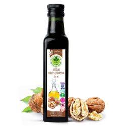 Dr. Natur étkek, Dióolaj hidegsajtolással- vérzsír, memória, koncentráció, bélférgesség esetén! 250ml