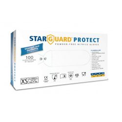 Starguard touch vizsgáló kesztyű latex M méret 100 db