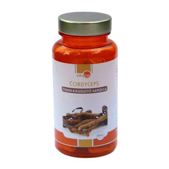 Vitamed cordyceps étrend-kiegészítő kapszula 60 db