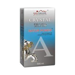 CRYSTAL SILVER NAT.POW.GINS.500ML 500 ml